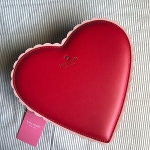 NWT Kate Spade Heart Crossbody Bag